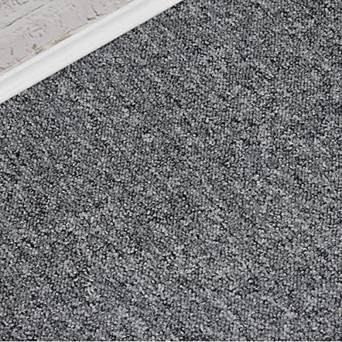 Alfombra Sonic color gris claro bereber Loop (10 cm x 10 cm)