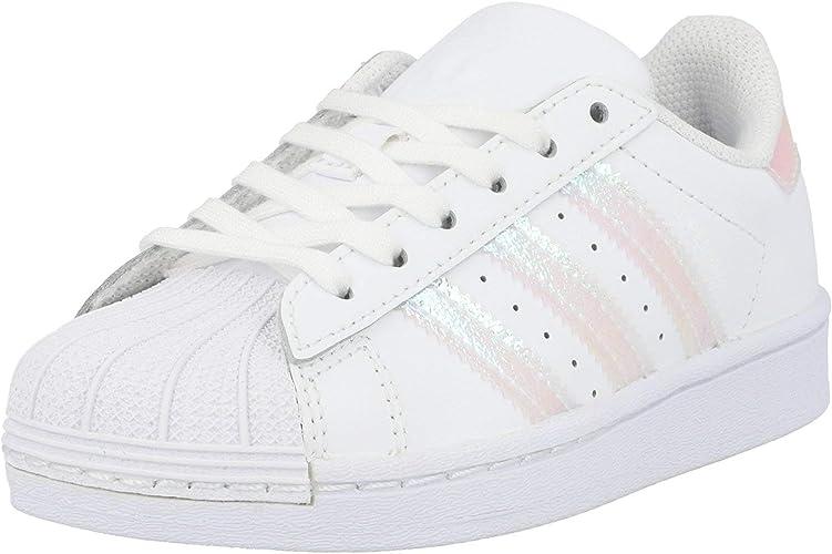 adidas Superstar C, Basket Mixte Enfant