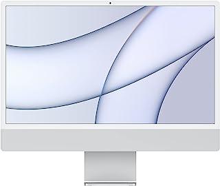 2021 Apple iMac (de24Pulgadas, Chip M1 de Apple con CPU de Ochonúcleos yGPU deOchonúcleos, Cuatro Puertos, 8GB RAM,...