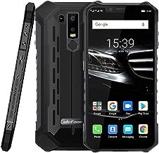 Ulefone Armor 6E IP68/IP69K Waterproof Unlocked Rugged Smartphone,4GB+64GB 6.2 inch Octa-core,16MP+2MP Dual Rear Cameras,Dustproof Shockproof,Face ID & Fingerprint Identification Cellphone(Black)