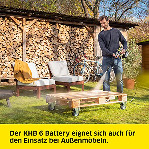 Kärcher Akku Druckreiniger KHB 6 exl. Akku - 6
