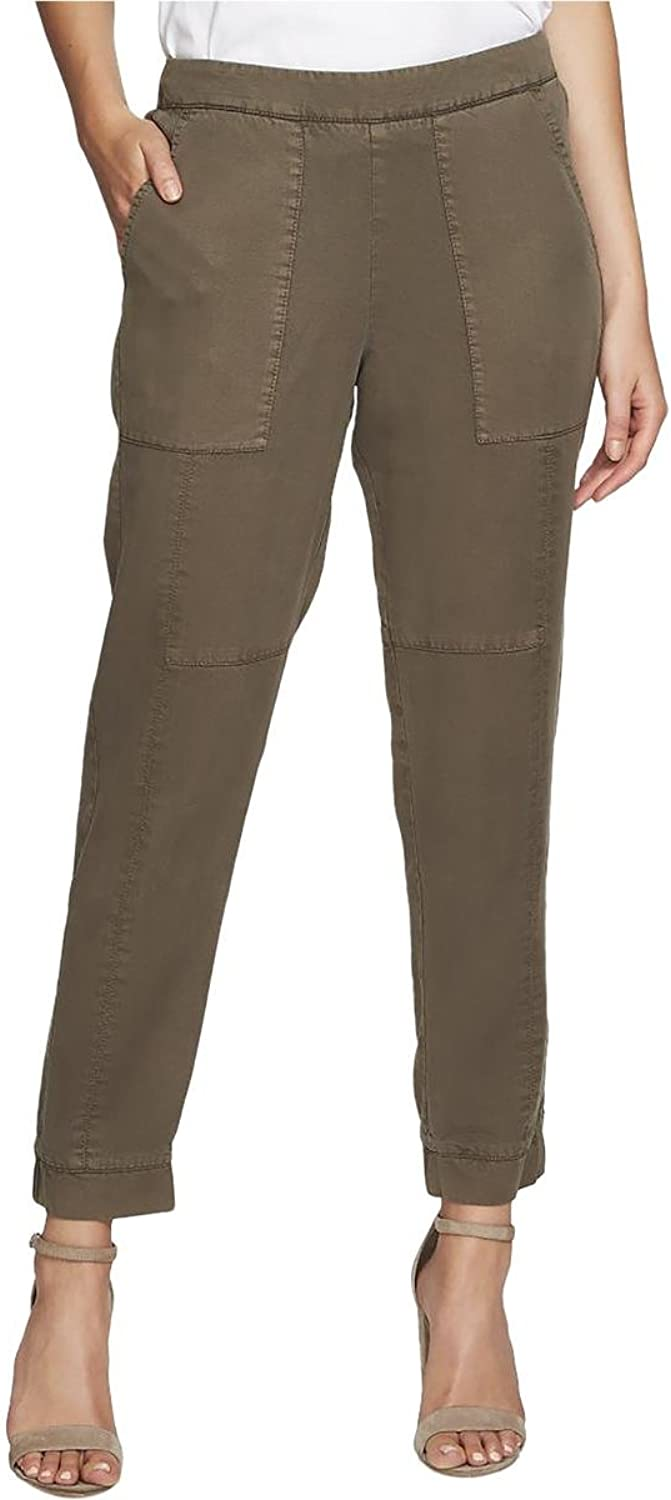 1.STATE Womens Twill Jogger Jogger Pants