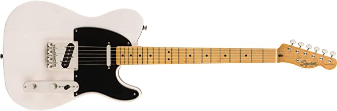 Squier by Fender 50's Telecaster - Maple - White Blonde