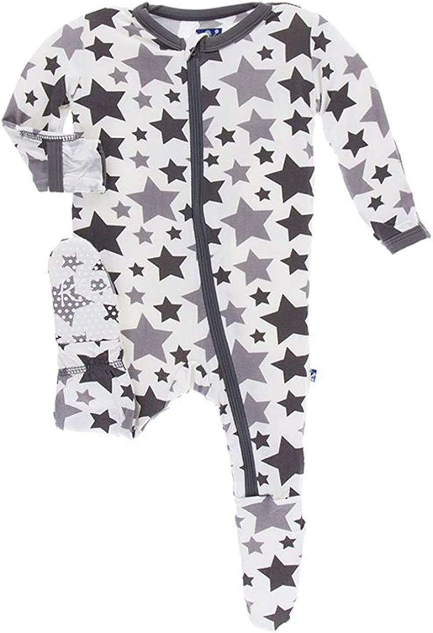 KicKee Pants Little Boys and Footie Print Girls Max 77% OFF with Essentials Finally popular brand