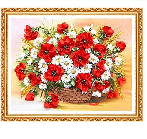 JHLP 5d Diamant Schilderij Verkoop Diamant Borduren Kralen Vogels Bloemen Volledige Diamant Foto van Strass Cross-Stitch Kits Art 40x30cm