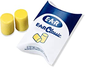 3M E-A-R Classic Pechz Earplugs 310-1060, Uncorded in Pillow Pack, 30 Count (2 Pack)