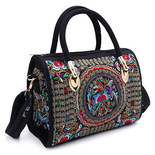 Embroidered Handbag: Amazon.co.uk