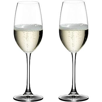 [正規品] RIEDEL リーデル シャンパン グラス ペアセット オヴァチュア シャンパーニュ 260ml 6408/48