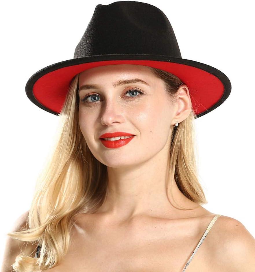 Hat Sombrero Cap Size 56-58CM Spasm price Women Fedora online shopping for La Black Wool