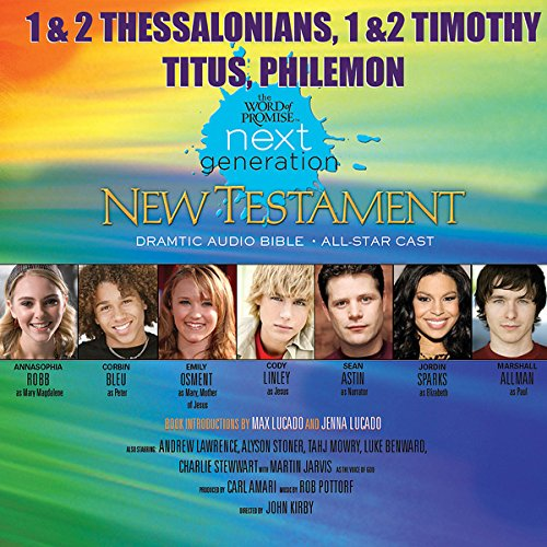 (32) 1,2 Thessalonians - 1,2 Timothy-Titus-Philemon, The Word of Promise Next Generation Audio Bible audiobook cover art
