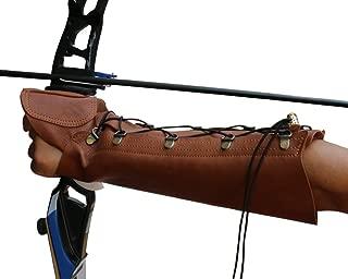 Nachvorn Handmade Leather Arm Guard Bow Hand Shooting Glove
