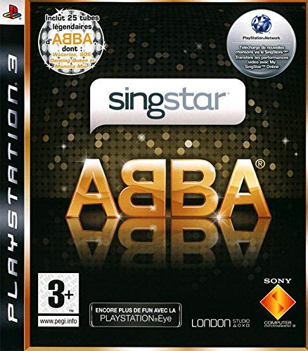 Singstar PS-3 ABBA PEGI