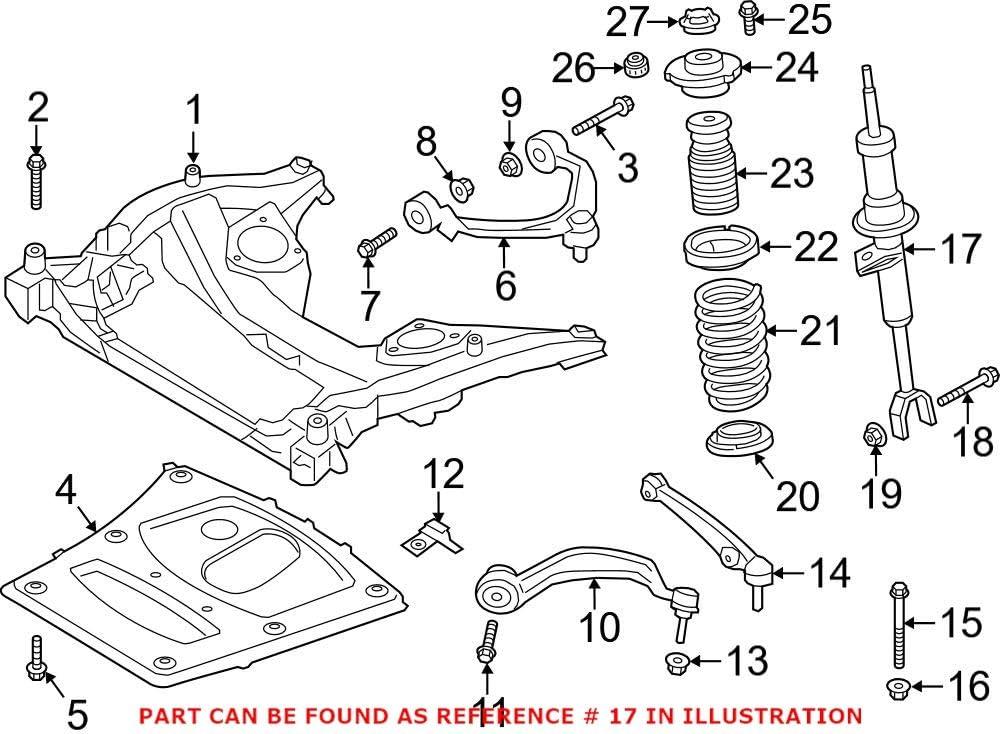Genuine OEM Front Passenger Right Suspension For BMW Surprise price Charlotte Mall F10 Strut 5