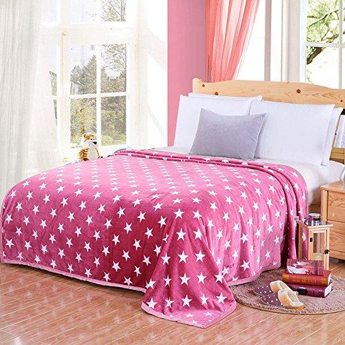 Global- Simple Articles ménagers modernes Woolen couverture été Double serviette en flanelle épaisse, molleton draps Blanket couvertures climatisation couverture (taille : 200 * 230cm)