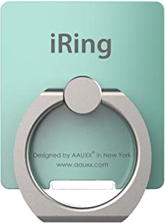 iRing Link-Detachable Plate for Wireless Charging, Include Hook Mount for Wall or Car Cradle. Cell Phone Ring Grip Finger ...