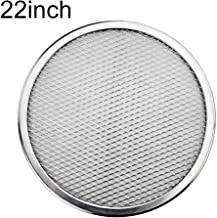 JannahMehr Roast Pan, Aluminium Round Non-stick Mesh Pizza Screen Plate Pan Baking Tray Bakeware Tool, Easy to Release, No...
