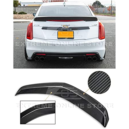 -Black Paint Code: WA8555 Spoiler for a Cadillac CTS 2-Door Coupe 2011-2014 Flush Mount Factory Style Spoiler Accent Spoilers Will not fit The V-Type