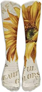 Hunter qiang, Calcetines de compresión para enfermera, de nailon, hasta la rodilla, largo: 50 cm