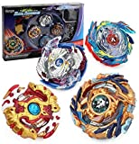 Bey Burst Evolution Starter Battling Top Fusion Metal Master Rapidity Fight with 4D