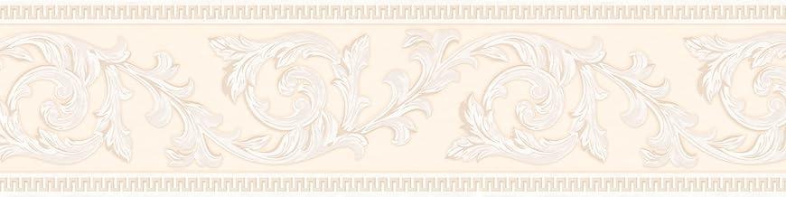 A.S. Création Zelfklevende rand Only Borders boord klassiek floral 5,00 m x 0,13 m crème Made in Germany 906212 9062-12