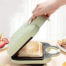 Sandwich Toastie Maker avec machine de petit-déjeuner à domicile détachable, facile à nettoyer, chauffage double face, fab...