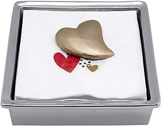 MARIPOSA Signature Napkin Box, Silver