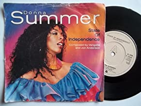 DONNA SUMMER State of Independence 7