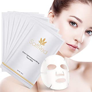 SaffRed Extra Whitening Paling-Spot Facial Mask   Beauty Mask Sheet   Intensive Hydration and Recovery   Reduces Skin Spots and Freckles  Creates Skin Tension   30 ml × 6 sheets