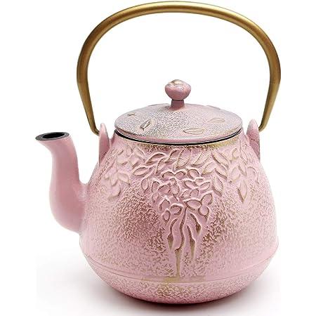 Cast Iron Teapot 900ml, Dark blue Sotya Tetsubin Japanese Tea Kettle