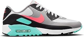 Nike Air MAX 90 G White Hot Punch Black Golf Shoe