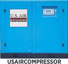US AIR COMPRESSOR SINGLE PHASE 15 HP VFD VSD ROTARY SCREW vs Ingersoll Rand