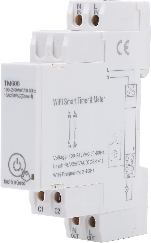100240V WiFi Smart Timer Max 42% OFF Popular overseas Meter Remote Phase Digital Single