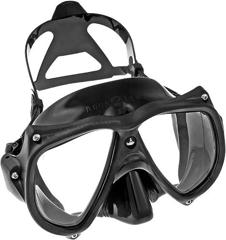 Aqua Lung Teknika Two Window Dive Mask (Blue/Blue/Clear)