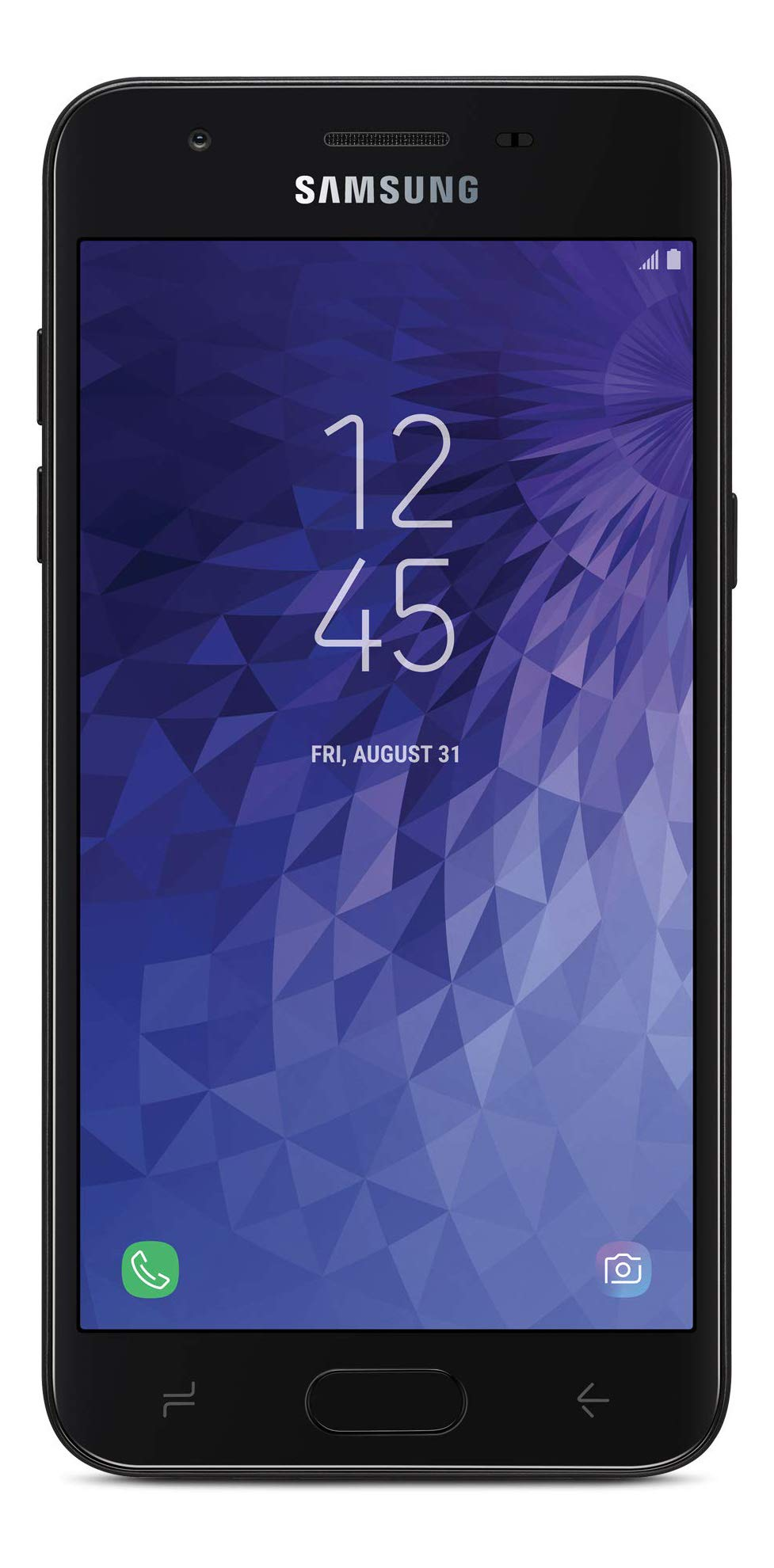 Tracfone Carrier-Locked Samsung Galaxy J3 Orbit 4G LTE Prepaid Smartphone - Black - 16GB - Sim Card Included - CDMA