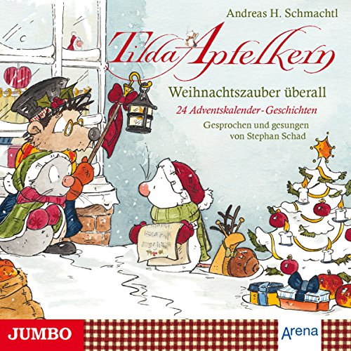Weihnachtszauber überall - 24 Adventskalender-Geschichten und eine Weihnachtsüberraschung Titelbild