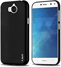 J&D Case Compatible for Huawei Y5 2017 Case, [Drop Protection] [Slim Cushion] Shock Resistant Protective TPU Slim Case for Huawei Y5 (Release in 2017) Bumper Case - [Not for Huawei Y5 Lite 2017]