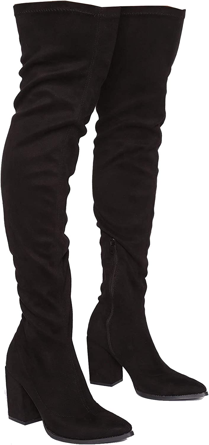Women's Over The Knee Boot - Sexy Wide Calf - Wide FIT - Thigh H