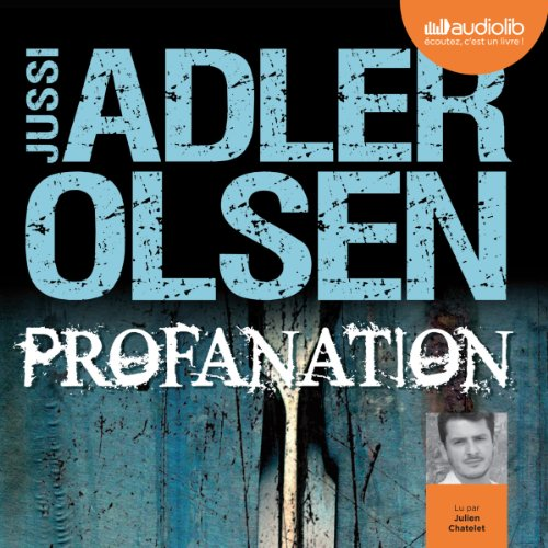 Profanation audiobook cover art
