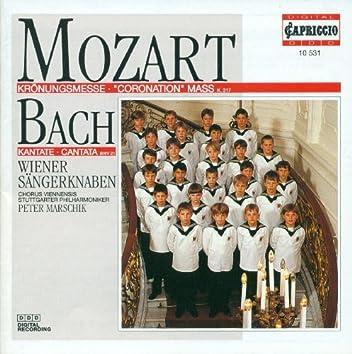 """Mozart, W.A.: Mass No. 16, """"Coronation Mass"""" / Bach, J.S.: Ich Hatte Viel Bekummernis"""