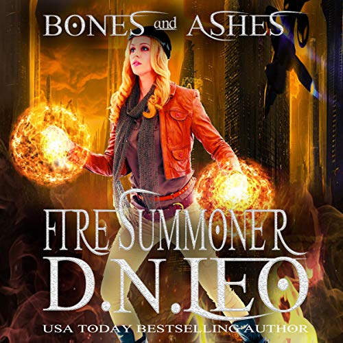 Fire Summoner audiobook cover art