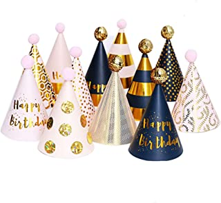 Birthday Party Hats Fun Party Cone Hats Birthday Paper Hats Art Craft Caps Party Supplies