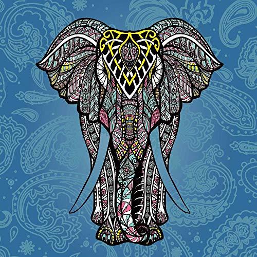 xkjymx Hauptdekoration samt Tapisserie einfache Pflanze Flamingo wandbehang Strandtuch 084 blau Brokat 180 Gramm super weiches Tuch 150 * 200