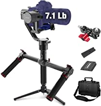 MOZA Air 3 Axis Handheld Gimbal Stabilizer with Dual Handle for DSLR Cameras, Max Payload of 7.1Lb, Auto-Tuning, i.e. Canon EOS, Sony A7, Panasonic GH5