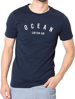 JIGGYS SHOP USAコットン ロゴ Tシャツ メンズ 半袖 Vネック クルーネック スリムフィット 25柄 吸水 速乾
