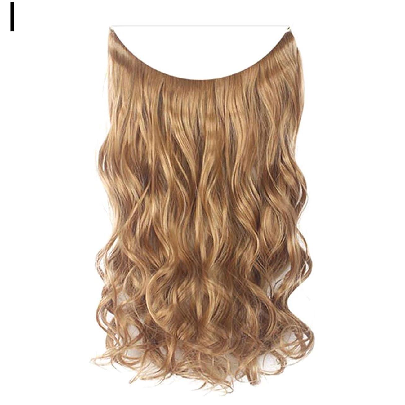 回る真鍮こねるslQinjiansav女性ウィッグ修理ツールファッション女性長いストレートカーリーウィッグフルヘッドヘアピースクリップヘアエクステンション