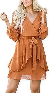 cute orange dresses
