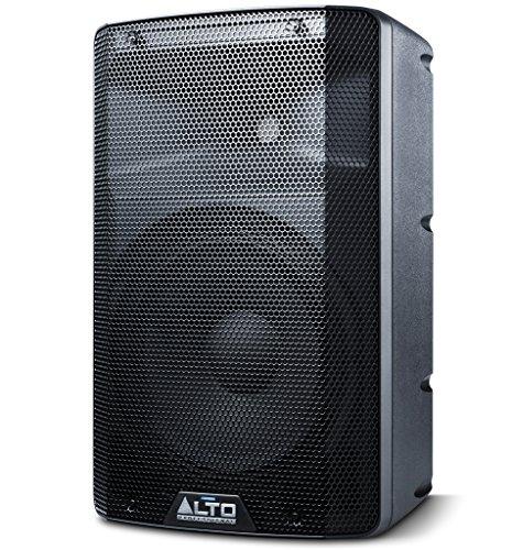 ALTO Professional TX210 - Altavoz Autoаmplificado de 2 Vías, 10 Pulgadas y 300 W con Crossover Activo, Conectividad para una Óptima Funcionalidad y Limitador Analógico Integrado