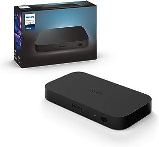 Philips Hue Play HDMI Sync Box, synchronizacja światła z TV i grą, do 4 urządzeń HDMI, 7 W, 240 V, czarny