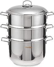 Prestige Stainlessteel Steamer Set, 4 Piece 24cm - Silver (595067 28)