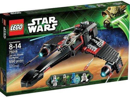 LEGO Star Wars 75018 Jek-14's Stealth Starfighter Set New In Box Sealed